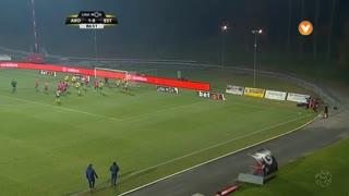 GOLO! Estoril Praia, João Basso aos 87', FC Arouca 1-1 Estoril Praia