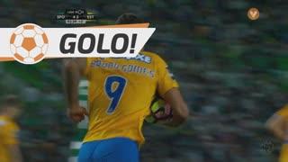 GOLO! Estoril Praia, Bruno Gomes aos 90'+3', Sporting CP 4-2 Estoril Praia