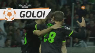 Sporting CP, Bas Dost aos 24', Marítimo M. 1-1 Sporting CP