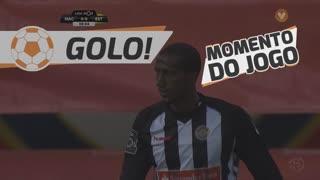 GOLO! Estoril Praia, Ali Ghazal (p.b.) aos 8', CD Nacional 0-1 Estoril Praia