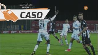 Vitória SC, Caso, Marega aos 57'