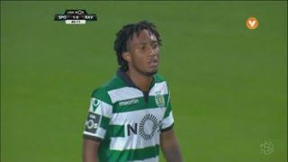 Sporting CP, Jogada, Gelson Martins aos 41'