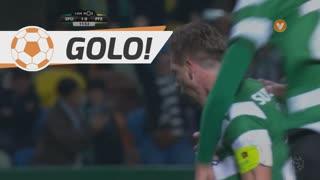 GOLO! Sporting CP, Adrien Silva aos 12', Sporting CP 1-0 FC P.Ferreira