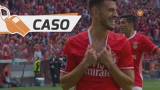 SL Benfica, Caso, Pizzi aos 62'