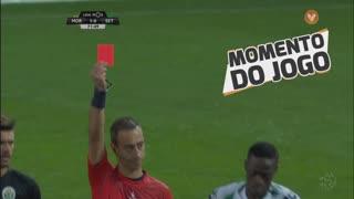 Moreirense FC, Expulsão, E. Boateng aos 72'