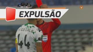 Moreirense FC, Expulsão, Diego Galo aos 59'