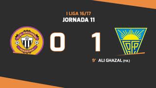 I Liga (11ªJ): Resumo CD Nacional 0-1 Estoril Praia