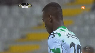 Moreirense FC, Jogada, E. Boateng aos 11'