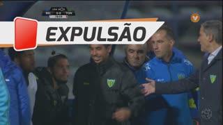 CD Tondela, Expulsão, Murilo aos 80'