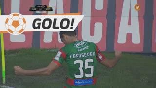GOLO! Marítimo M., Fransérgio aos 73', Marítimo M. 3-1 FC Arouca