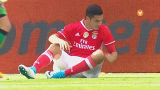 SL Benfica, Jogada, R. Jiménez aos 9'