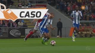 SC Braga, Caso, Baiano aos 11'
