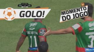 GOLO! Marítimo M., Éber aos 26', Marítimo M. 1-0 CD Tondela