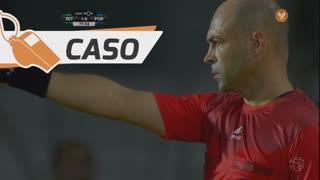 Vitória FC, Caso, Fábio Cardoso aos 78'