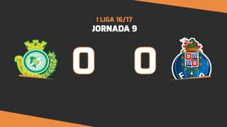 I Liga (9ªJ): Resumo Vitória FC 0-0 FC Porto
