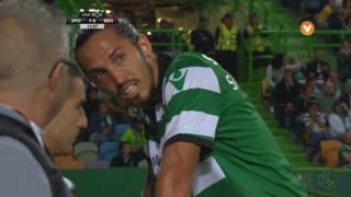 Sporting CP, Jogada, E. Schelotto aos 32'