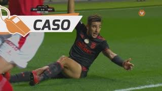 SL Benfica, Caso, Salvio aos 17'