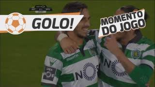 GOLO! Sporting CP, B. Ruiz aos 22', Estoril Praia 0-1 Sporting CP