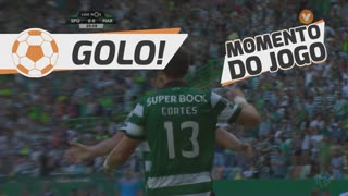 GOLO! Sporting CP, S. Coates aos 21', Sporting CP 1-0 Marítimo M.