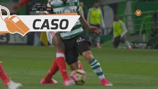 Sporting CP, Caso, Daniel Podence aos 82'