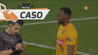 Sporting CP, Caso, Bas Dost aos 85'