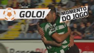 GOLO! Sporting CP, Bruno César aos 36', FC Arouca 1-2 Sporting CP