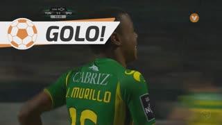 GOLO! CD Tondela, J. Murillo aos 53', CD Tondela 1-1 Sporting CP