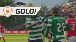 GOLO! Sporting CP, Bas Dost aos 50', SC Braga 1-1 Sporting CP