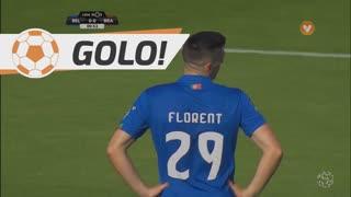 GOLO! SC Braga, Florent  Hanin (p.b.) aos 1', Belenenses 0-1 SC Braga