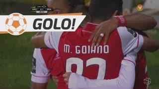 GOLO! SC Braga, Pedro Santos aos 48', FC Arouca 0-1 SC Braga