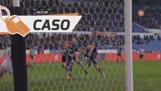 Sporting CP, Caso, Bas Dost aos 79'