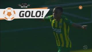 GOLO! CD Tondela, J. Murillo aos 7', CD Tondela 1-0 Marítimo M.