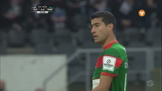 Marítimo M., Jogada, G. Ghazaryan aos 3'