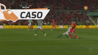 SL Benfica, Caso, F. Cervi aos 55'