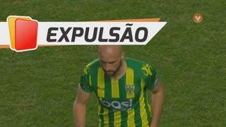 CD Tondela, Expulsão, Pica aos 90'+3'