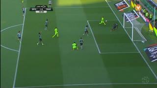 Marítimo M., Jogada, Alex Soares aos 39'