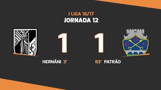 I Liga (12ªJ): Resumo Vitória SC 1-1 GD Chaves