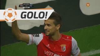 GOLO! SC Braga, Rui Fonte aos 8', SC Braga 1-0 CD Feirense