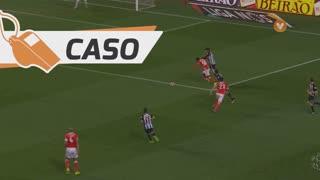 SL Benfica, Caso, Nélson Semedo aos 63'
