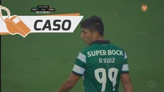 Sporting CP, Caso, Alan Ruiz aos 45'