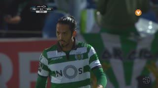 Sporting CP, Jogada, E. Schelotto aos 20'
