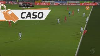 SL Benfica, Caso, Pizzi aos 68'
