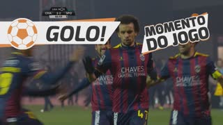 GOLO! GD Chaves, Fábio Martins aos 87', GD Chaves 2-2 Sporting CP