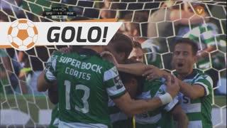 GOLO! Sporting CP, Slimani aos 14', Sporting CP 1-1 FC Porto