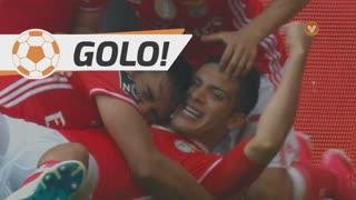 GOLO! SL Benfica, R. Jiménez aos 16', SL Benfica 2-0 Vitória SC