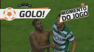 GOLO! Sporting CP, Joel Campbell aos 90'+6', Sporting CP 1-1 CD Tondela