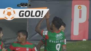 GOLO! Marítimo M., Dyego Sousa aos 5', Marítimo M. 1-0 FC P.Ferreira