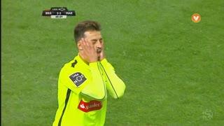 Marítimo M., Jogada, Luís Martins aos 49'