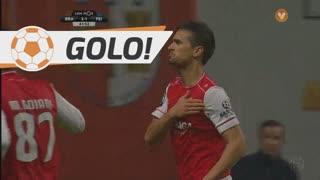 GOLO! SC Braga, Rui Fonte aos 42', SC Braga 3-1 CD Feirense
