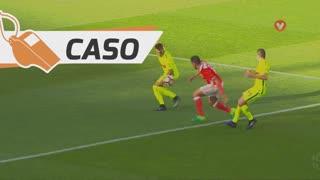 SL Benfica, Caso, Salvio aos 27'